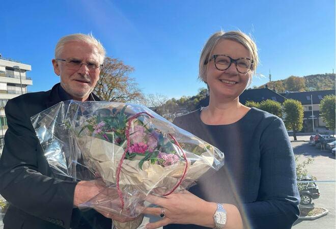 Nina Mevold og Harald Danielsen
