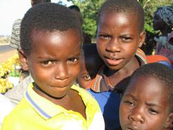 Barn i Afrika får støtte når barn i Norge løper.