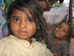 Husløs i Bangalore, India