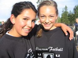 Samira A. Jara og Julie Dalen