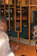 På bar i Lilongwe