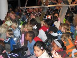 Barn som interesserte tilhørere