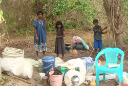 Internflyktninger i Vanni
