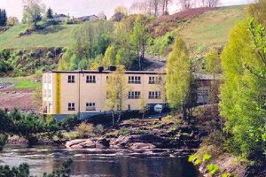 Kongsfoss Kunstnersenter, Åmot. Klikk på bilde for stor versjon