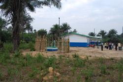 Madigba Bundu skole med brønn