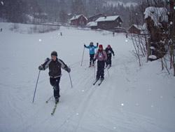 Skiløp for Nepal - populært blant Flatdal-elevene
