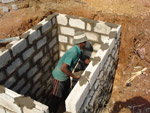 Bygging av toalett