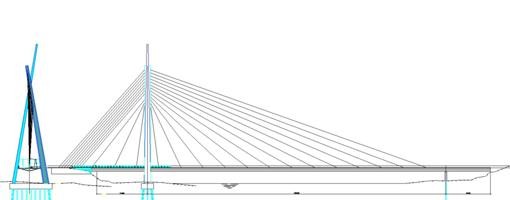 Arkitektstegning nye Tana bru