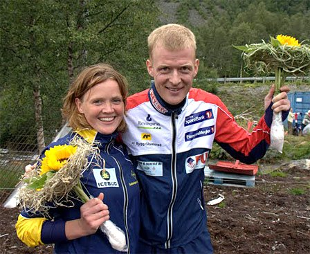 Tone Wigemyr og Anders Nordberg.