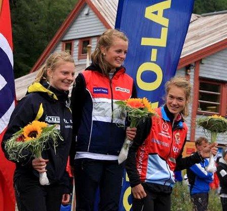 Helen Katrine Skjerve, Ingjerd Myhre og Oda Wennemo